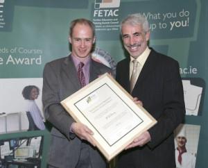FETAC Certification Award